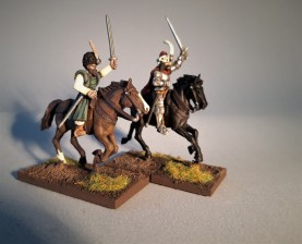 Wallachian Leaders conversion 28mm