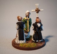 Late medieval Clergy 28mm