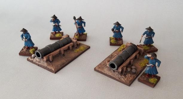 Ottoman artillery bombard 28mm
